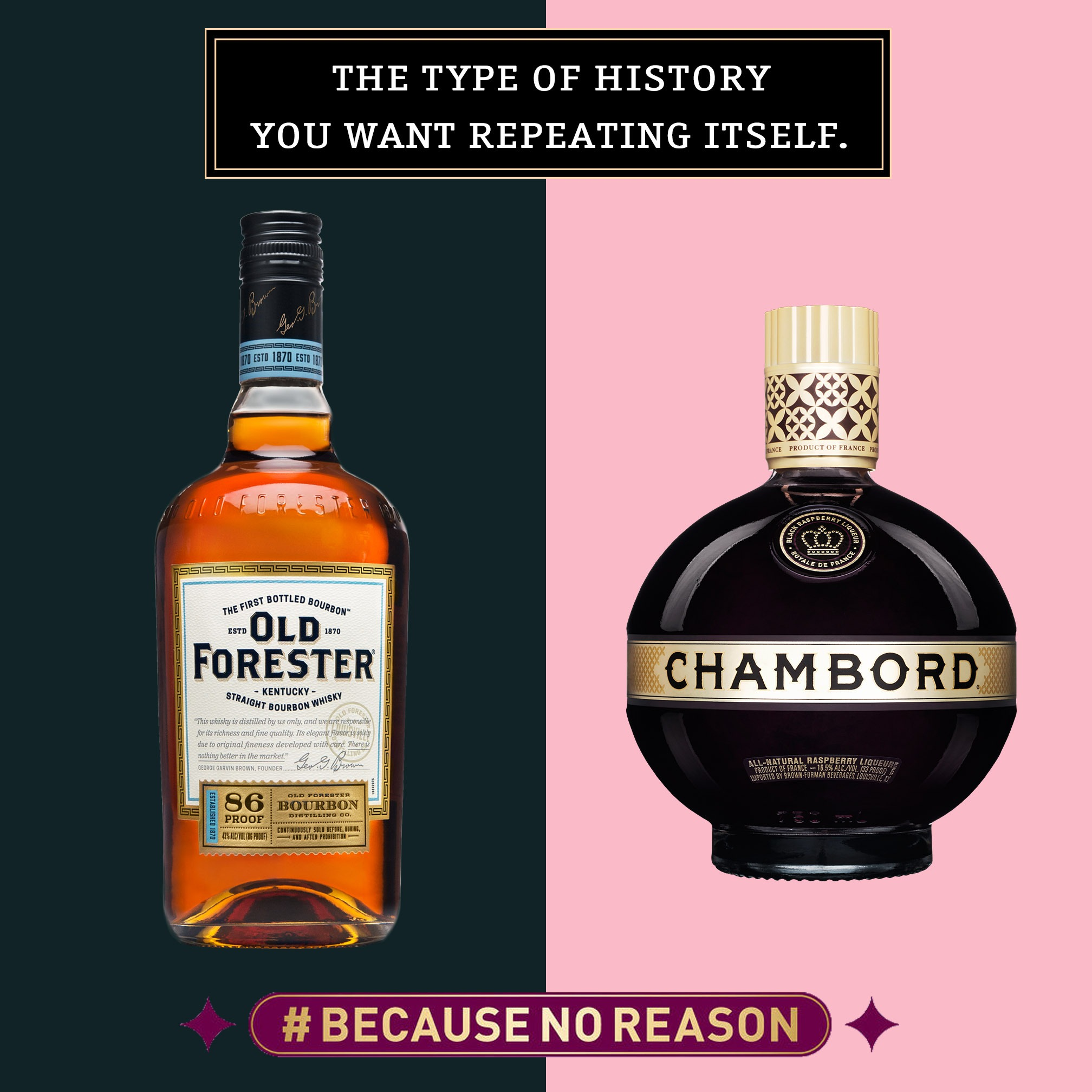 Old Forester + Chambord Competition NOW LIVE!